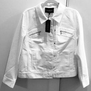 Lafayette NWT Kesha Denim Jacket